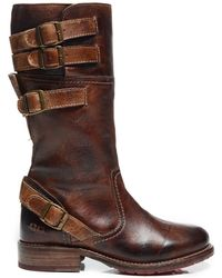 Bed Stu - Dorset Leather Buckle Boot - Lyst
