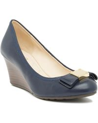 Cole Haan - Tali Grand Bow Wedge Pump - Wide Width Available - Lyst