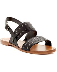 Vince Camuto - Rickita Studded Leather Sandal - Lyst