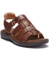Born - Mark Leather Sandal - Lyst