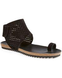 Pedro Garcia - Perforated Sandal - Lyst