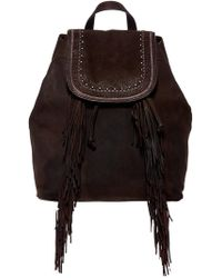 Lucky Brand - Zori Leather Backpack - Lyst