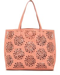 Under One Sky - Laser Cut Reversible Tote - Lyst