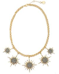 Vince Camuto - Crystal Star Necklace - Lyst