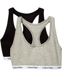 CALVIN KLEIN 205W39NYC - Scoop Neck Racerback Bralette - Pack Of 2 - Lyst