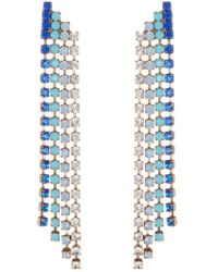 Loren Hope - 18k Gold Plated Marissa Petite Drop Earrings - Lyst