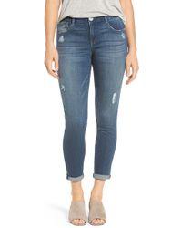 Wit & Wisdom - Ab-solution Boyfriend Ankle Jeans - Lyst