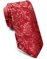 Ted Baker - Tonal Floral Silk Tie - Lyst