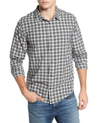 RVCA - Hayes Plaid Flannel Sport Shirt - Lyst