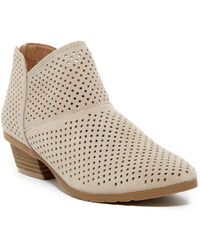 Kenneth Cole Reaction - Side Walk Suede Ankle Boot - Lyst
