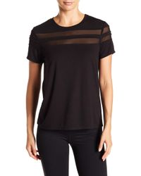 Zella - Everly Mesh Tee - Lyst