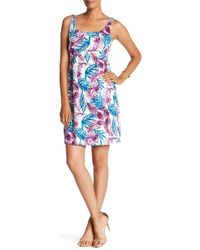 Tommy Bahama - Fronds Of A Feather Tank Dress - Lyst