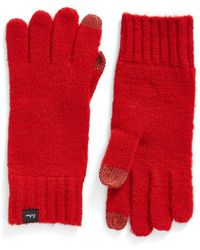 Echo - 'touch' Stretch Fleece Tech Gloves - Lyst