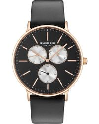 Kenneth Cole - Men's Classic Leather Watch, 41mm - Lyst