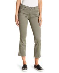 J Brand - Selena Mid Rise Crop Bootcut Leg Jeans - Lyst