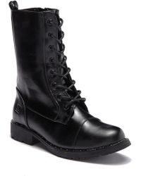 Dirty Laundry - Rolanda Cap Toe Combat Boot - Lyst