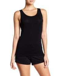 Naked - Knit Trim Tank Top - Lyst