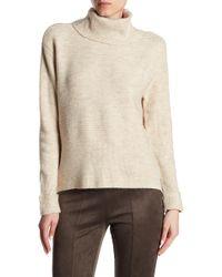 Dex | Turtleneck Long Sleeve Rib Knit Sweater | Lyst