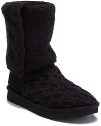 UGG - Lattice Cardy Pure(tm) Knit Boot - Lyst