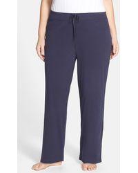 Lauren by Ralph Lauren - Jersey Lounge Trousers (plus Size) - Lyst