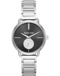 Michael Kors - Portia Round Bracelet Watch, 36.5mm - Lyst