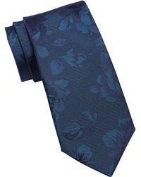 Ted Baker - Damask Rose Silk Tie - Lyst