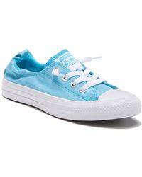 30e3d5508c2c Converse - Women s Chuck Taylor All Star Beach Date Shoreline Slip-on  Sneakers - Lyst