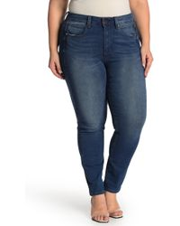 705fc53b28ad29 Blank NYC Hotel Distressed Skinny Jeans in Blue - Lyst
