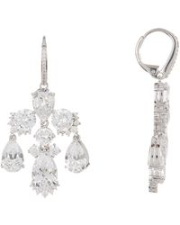 Nadri - Rhapsody Cz Chandelier Earrings - Lyst
