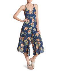 Dress Forum - Strappy Open Back Jumpsuit - Lyst