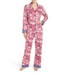 Munki Munki - Print Flannel Pajamas - Lyst