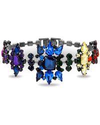 Steve Madden - Casted Stone Star Link Bracelet - Lyst