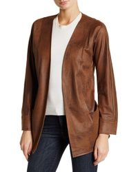 Insight - Faux Suede Jacket - Lyst