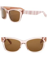 Kate Spade - Alora 53mm Cat Eye Sunglasses - Lyst