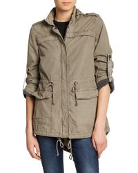 Levi's - Hi-lo Hooded Military Jacket - Lyst
