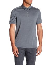 John Varvatos - Hampton Fine Knitted Polo - Lyst