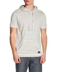 Ezekiel - Morris Knit Short Sleeve Hoddie Sweater - Lyst