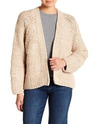 Vince - Chunky Knit Cardigan - Lyst