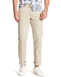 """Black Brown 1826 - Jack Tailored Fit Chino Pants - 30-34"""" Inseam - Lyst"""