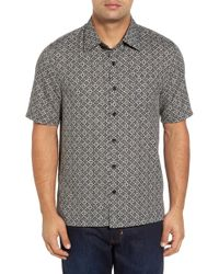Nat Nast - Moritz Classic Fit Silk Blend Camp Shirt - Lyst