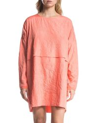 Lime & Vine - Charlotte Long Sleeve Shift Dress - Lyst