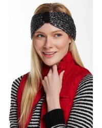 Wooden Ships - Hazel Rib Black Snow Headscarf - Lyst