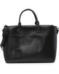 Versace - Leather Weekend Bag - Lyst