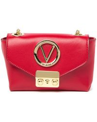 Valentino By Mario Valentino - Lola Leather Shoulder Clutch - Lyst