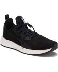 a26edd9b54b PUMA Running Nrgy Neko Knit In Black 191093-06 in Black for Men - Lyst