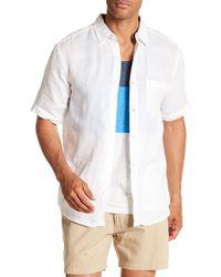 Vintage 1946 - Linen Blend Pocket Shirt - Lyst
