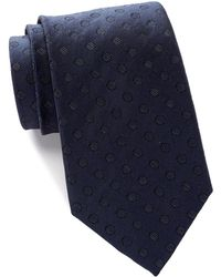 Kenneth Cole Reaction - Crystal Dot Silk Tie - Lyst