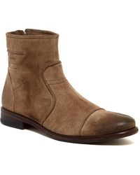 Blackstone - Cap Toe Leather Boot - Lyst