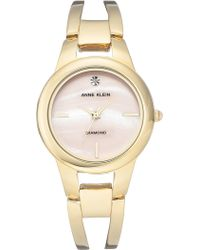 Anne Klein - Women's Diamond Bracelet Watch, 32.6mm - Lyst
