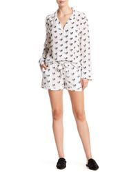 Equipment - Lillian Silk Pajama 2-piece Set - Lyst